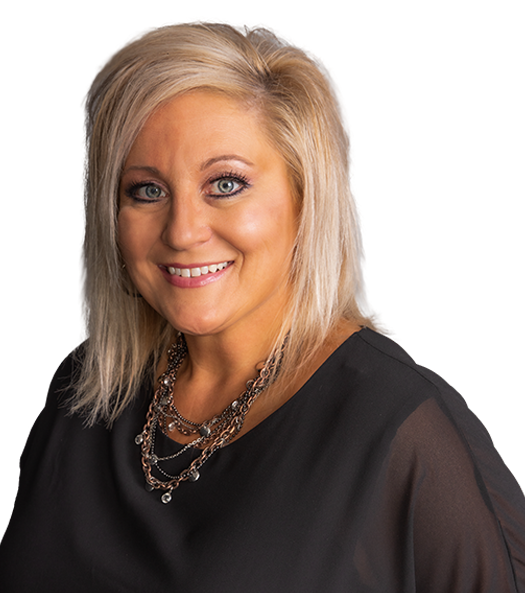 Image of female realtor happy to help you find the best NW Indiana home for your family.